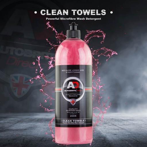Clean Towels Microfibre Wash Detergent