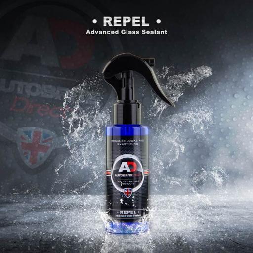 Repel - Advanced Glass Sealant & Rain Repellent