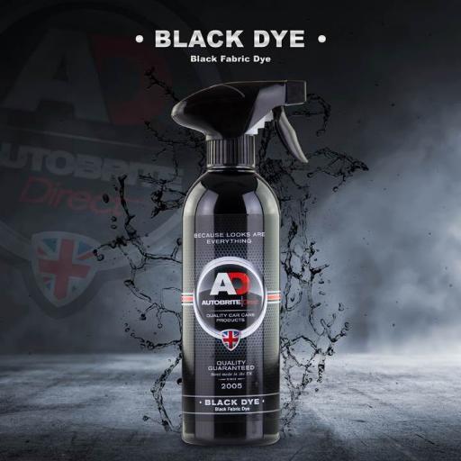 Black Dye - Carpet And Trim Stain