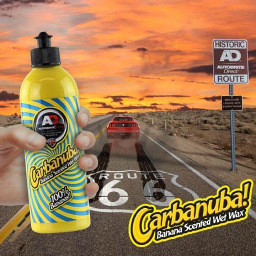 Carbanuba Car-Ban-Uba - Banana Scented Wet Wax