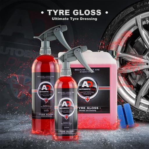 Tyre Gloss - Ultimate high gloss tyre dressing