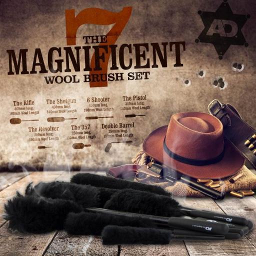 Magnificent 7 Brush set